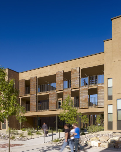 New Student Housing Complex At New Mexico State University Steinberg Architects Archello