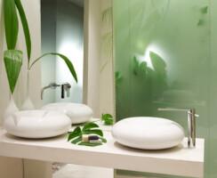 Sink taps asymmetric by Ramon Soler