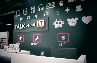 TALK about i.T.