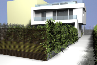 villa bifronte_back facade