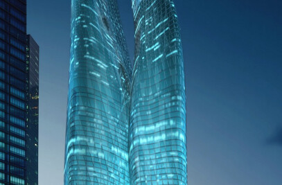 Guangzhou Twin Towers (West Tower)