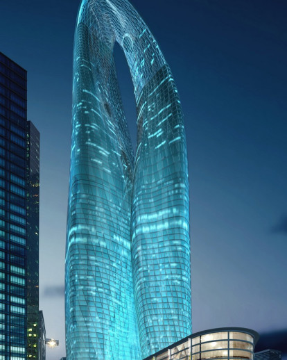 Guangzhou Twin Towers (West Tower) | MAD Architects | Archello