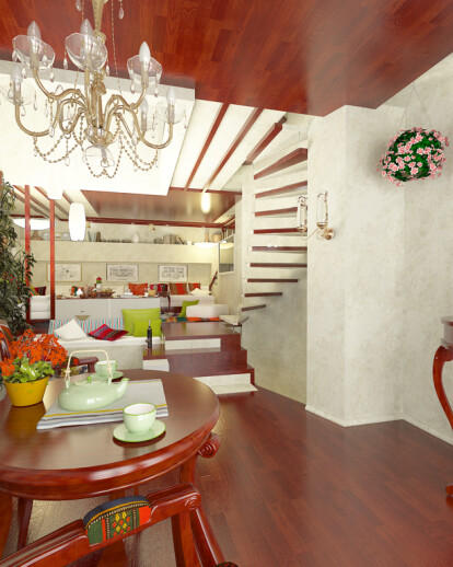 Modern Bulgarian  Traditional House by Brani & Desi