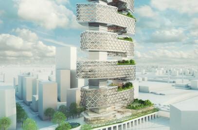 "Office Tower ""Le Cinq"""