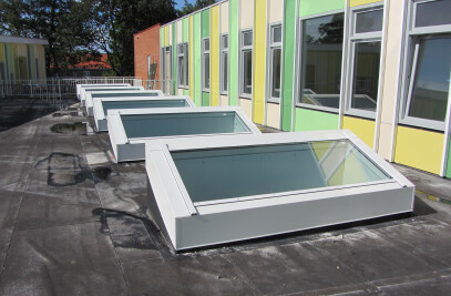 Glass Roof & Skylights
