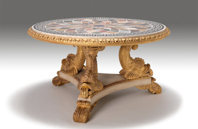 The Dolphin Centre Table