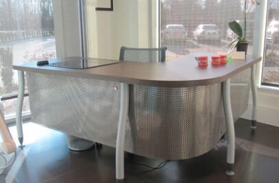 Custom Desk for Dental Office