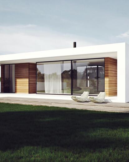 Patio house
