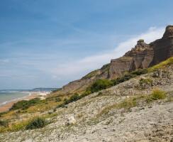 the Vaches Noires cliffs