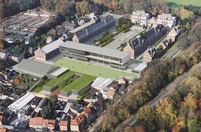4th European School - Reconversion of an old military school into an European School for 2500 students