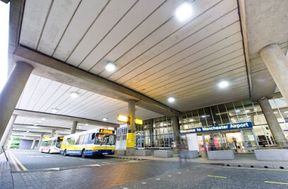 Lighting the way at Manchester Airport