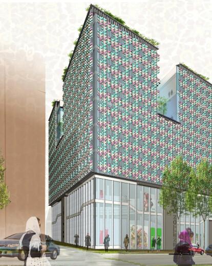 Benetton Building in Tehran