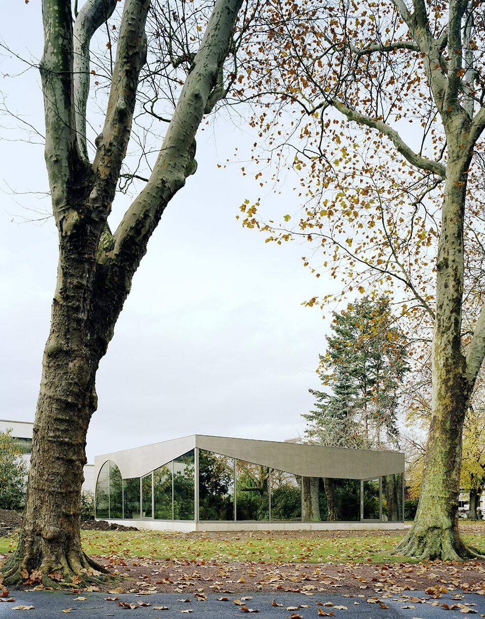Pavilion in Friedhofspark Duren