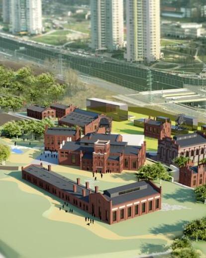 New North Museum Site & Buildings - Silesian Museum