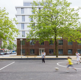 Primary School + Social Housing Project, Amsterdam NL