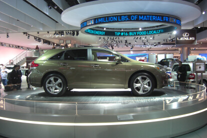 Detroit Auto Show Display Floor 1
