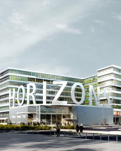 Office building in Asnieres sur Seine