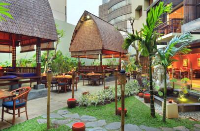 Bebek Bengil Restaurant at The Ubud