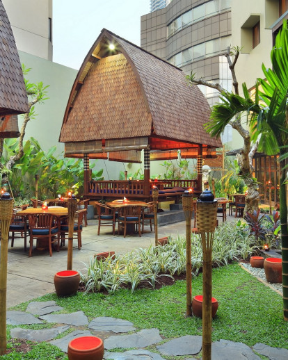 Bebek Bengil Restaurant at The Ubud