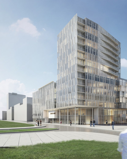 RICHARD MEIER and PARTNERS WINS COMPETITION FOR NEW MIXED-USE PROJECT IN GERMANY