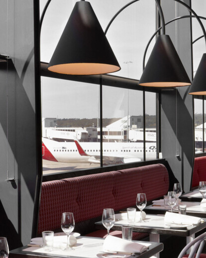 Café Vue at Melbourne International Airport