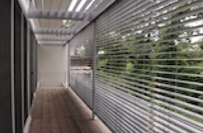 Exterior Venetian Blinds by Hunter Douglas Contract