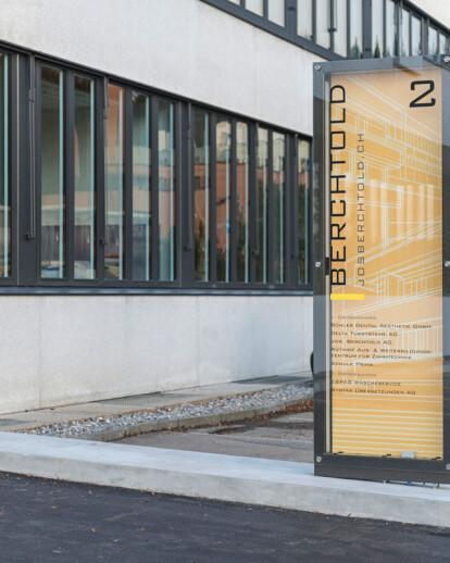 jos. berchtold ag l rise led pylon installation