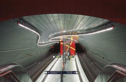 Underground Rail Station Lohring
