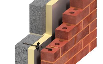 Ancon TeploTie Basalt Fibre Wall Ties by Ancon | Archello