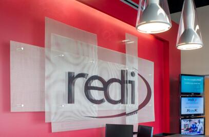 REDI Corporate Office, Logo Signage