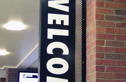 UW-Milwaukee, Soref Hall Learning Commons, Interior Signage