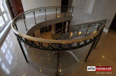 Metal Helical Staircase - Elite Metalcraft