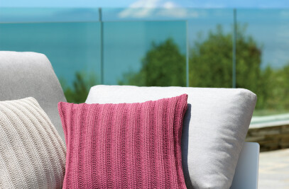 Knitwear Cushions for Outdoors