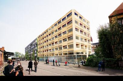 New Primary School and gym Erlenmatt