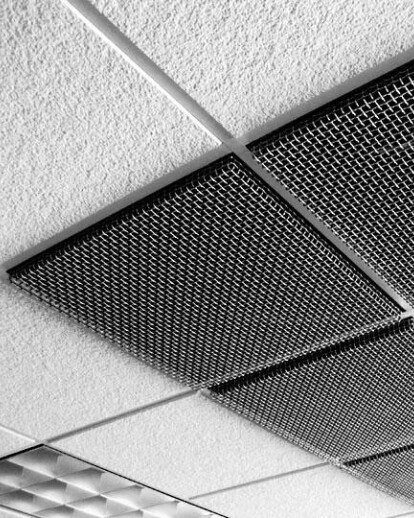 Banker Wire Reveal Ceiling Tiles