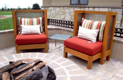 Custom Designed Patio Chairs