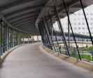IRS Building Pedestrian Walkway Fence