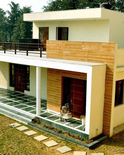 Chattarpur Farm House Horizon Design Studio Pvt Ltd Archello