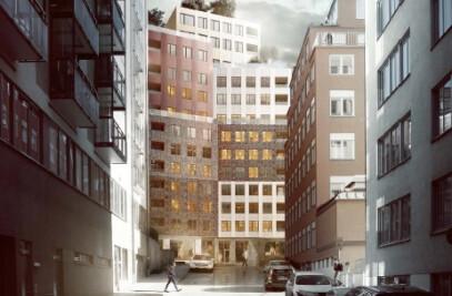A mini-Manhattan on Kungsholmen