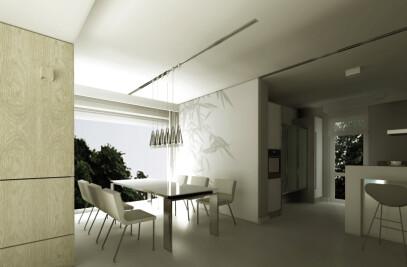 Interior design of the house in Szczecin