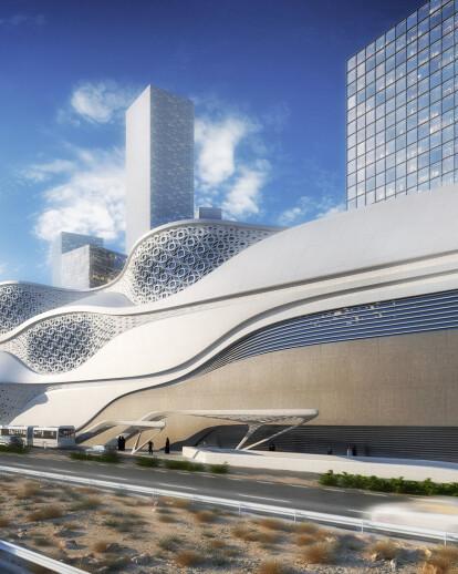 King Abdullah Financial District Metro Station