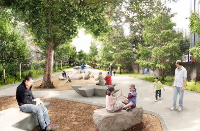 Award winning design team to create London's most 'liveable neighbourhood'