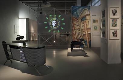 Triennale di Milano, Exhibition Massimo Iosa Ghini: exposition images