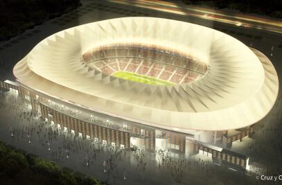 Proyecto de ampliación del estadio de La Peineta