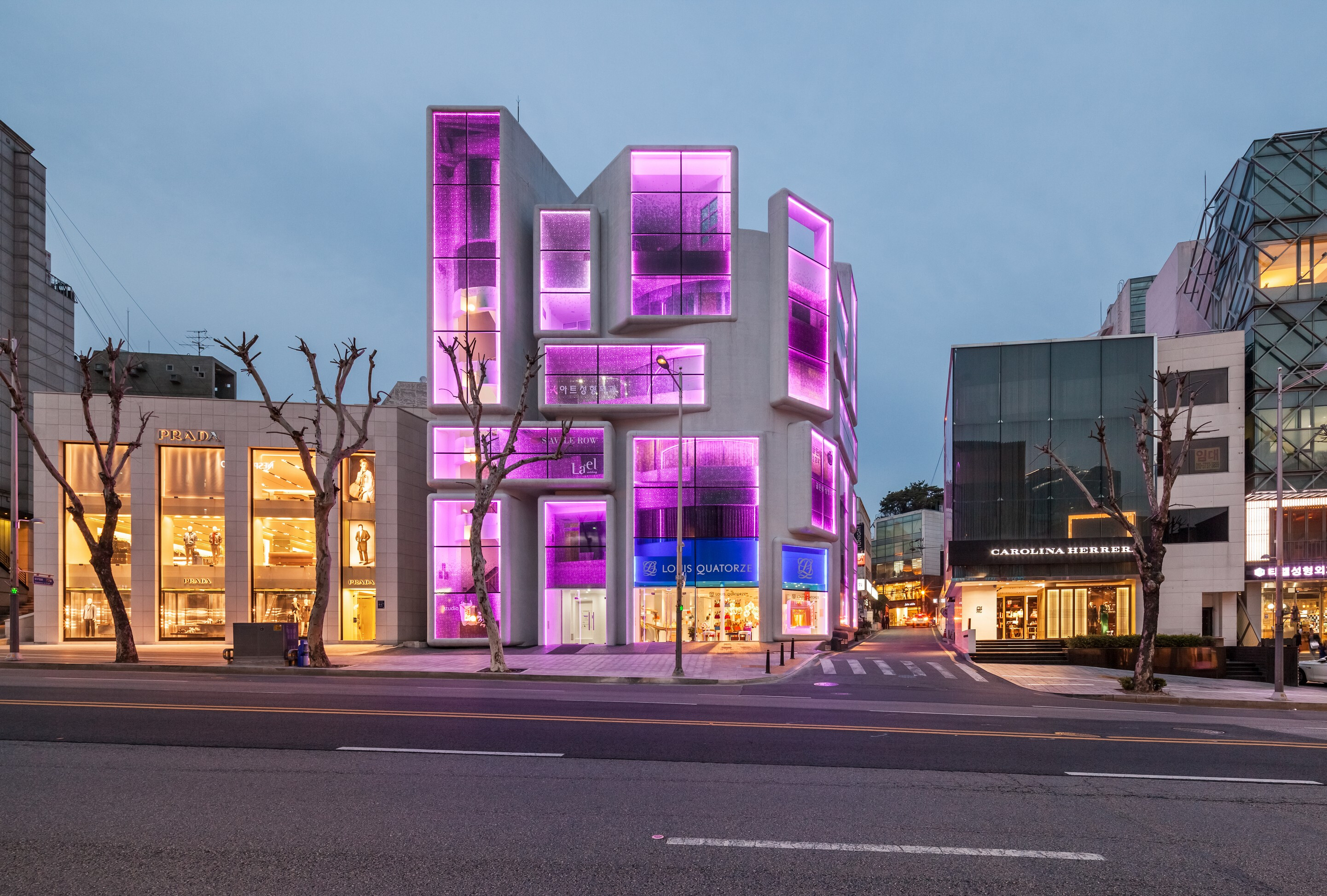 Building transformation Gangnam Style