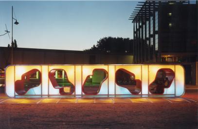 Loungin' - Temporary Exhibition Pavilion