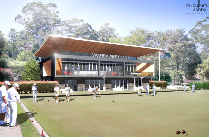 PROPOSED LAWN BOWLS CLUBHOUSE