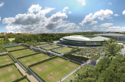 Grant Associates adds to Wimbledon Master Plan