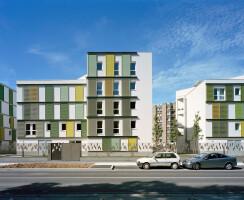 Façade on Jean Moulin street