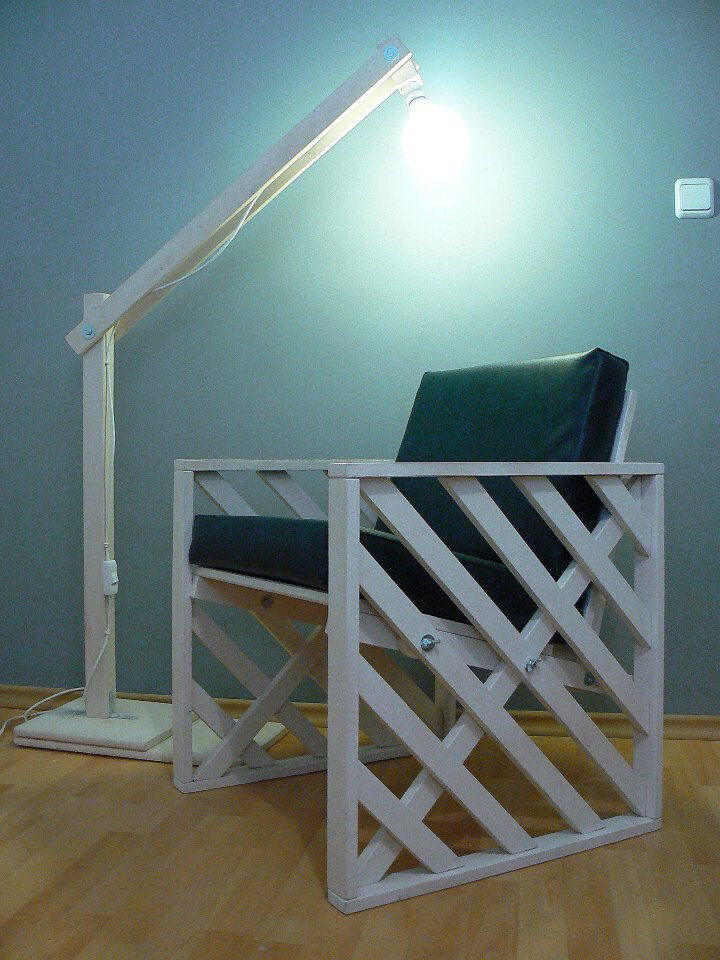 contemporary chair w